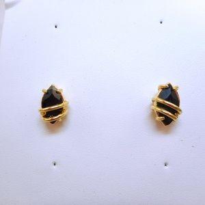 Jewelry - Dainty Black Post Earrings